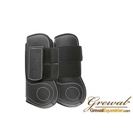 Grewal Open Front Tendon Boot Synthetic Black Full