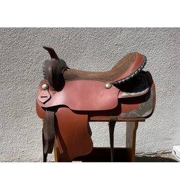 """Trail Saddle 17.5"""" Semi-Quarter Horse Bars"""