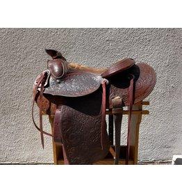 """16"""" Broken Horn Saddle Full Quarter horse Bars"""