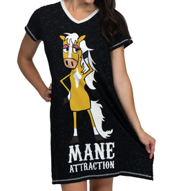 Related Products Mane Attraction Women's Horse V-Neck Nightshirt S/M