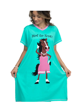 Lazy One Hot to Trot Nightshirt L/XL