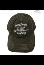 Long Board Cowboys Embroidered LBC Cap