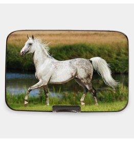 Monarque Wallet White Arabian