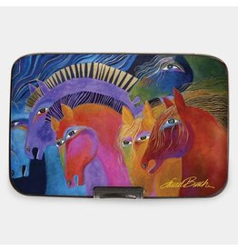 Monarque Armored Wallet Burch Wild Horses of Fire