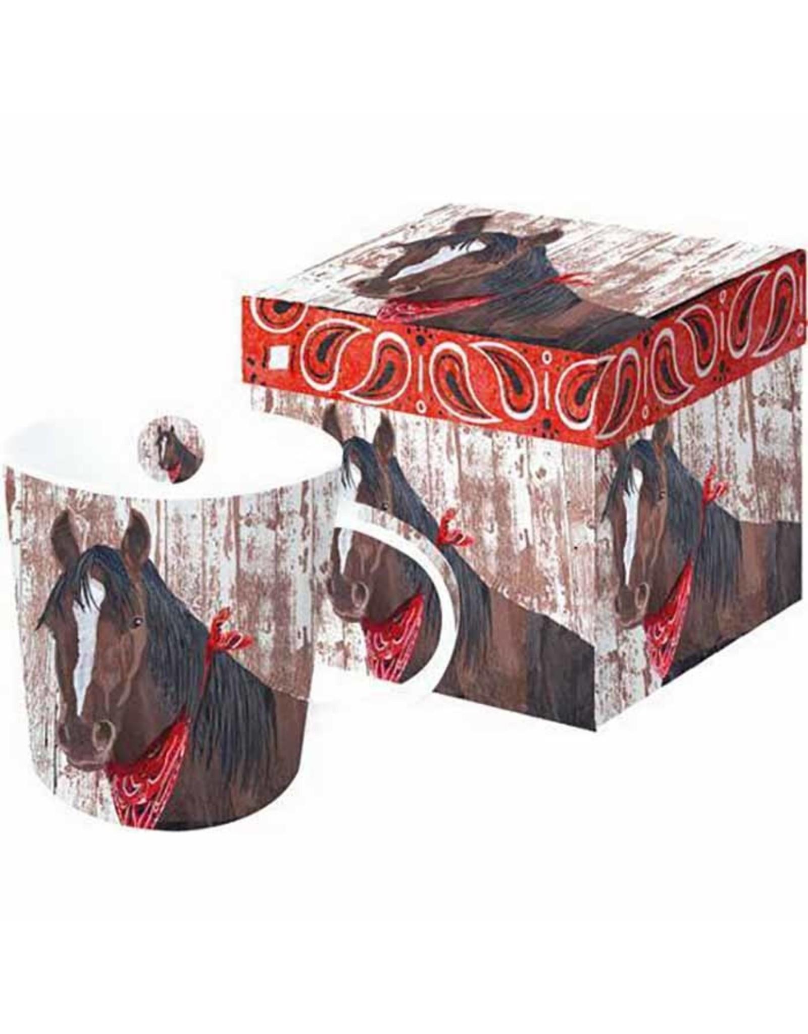 Bandana Horse boxed Mug