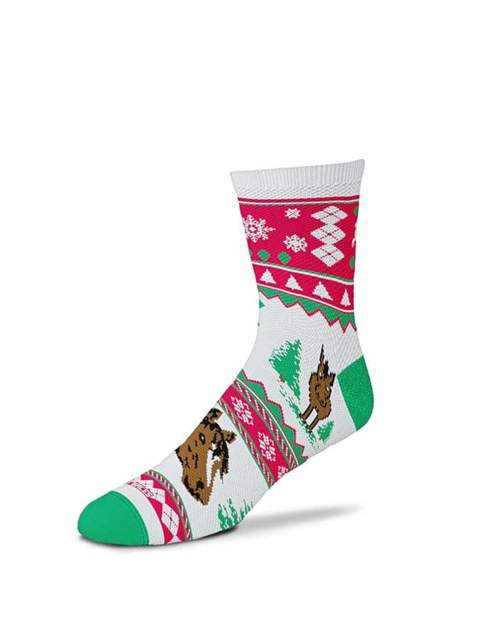 Christmas Sweater Horse sock - Adult