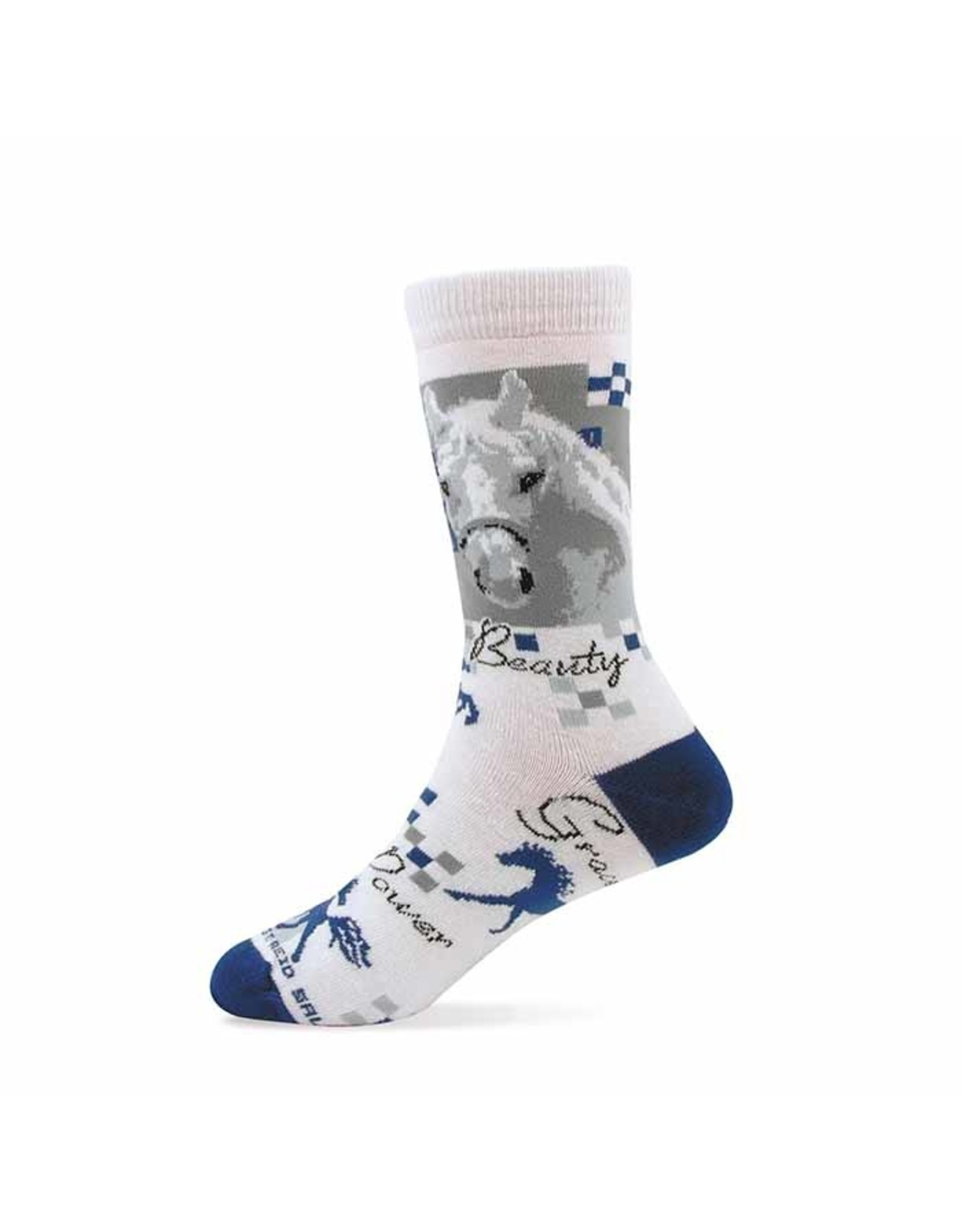 Beauty and Grace Sock- Youth
