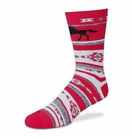 Red HorseThick Boot Sock-Adult