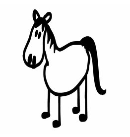 Decal Family Horse/Talk Expressions - GTR