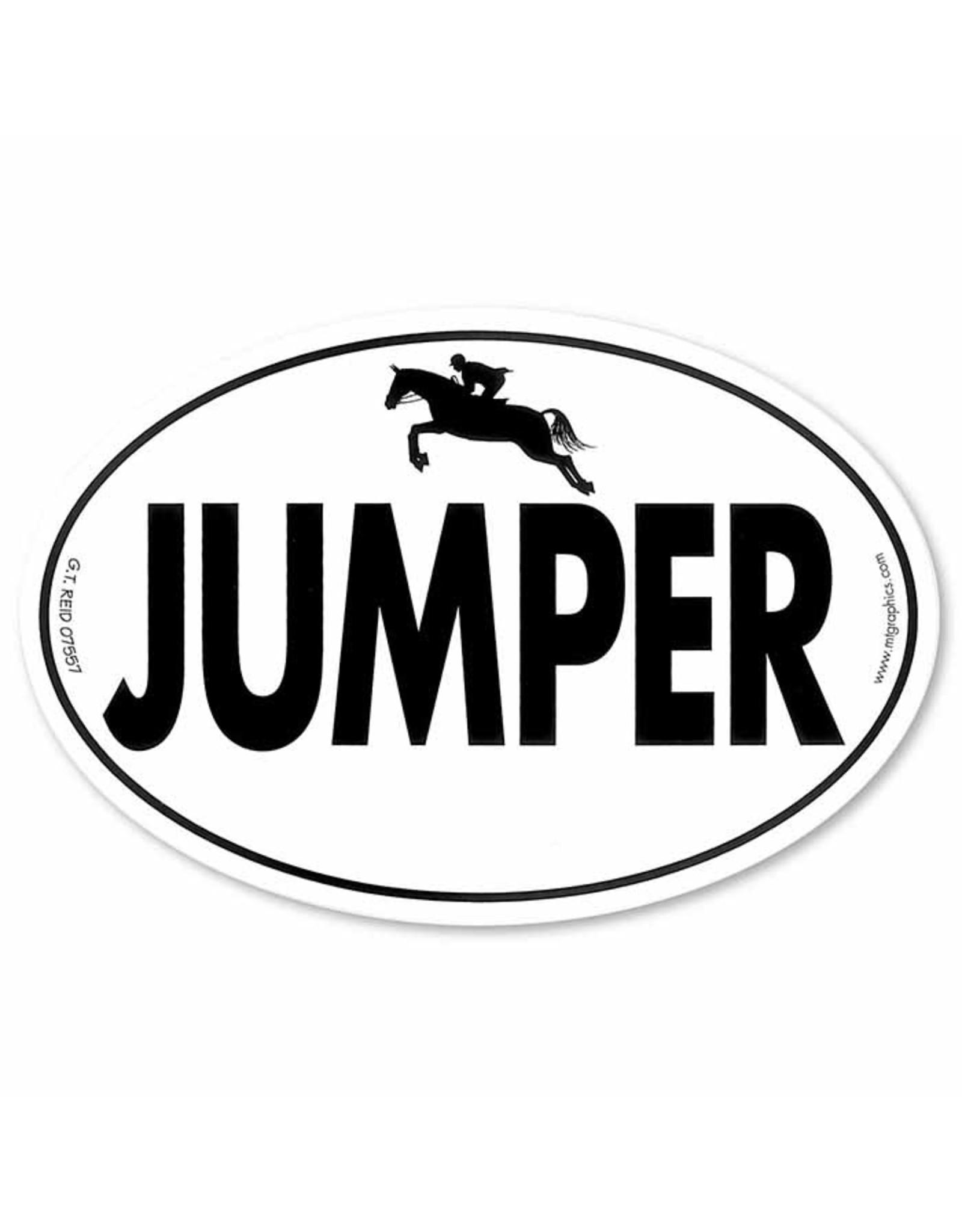 Euro Sticker Jumper w/ Rider