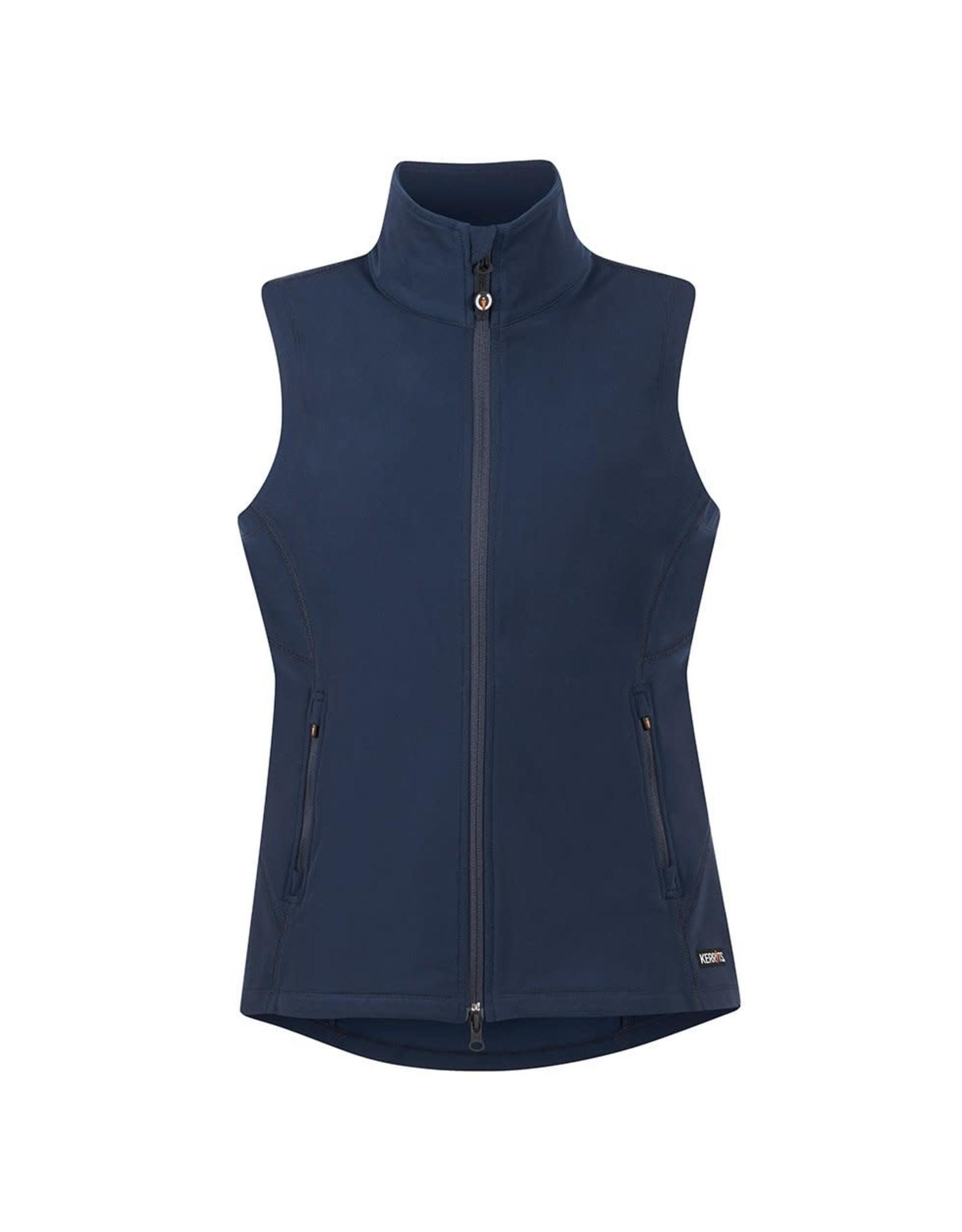 Kerrits Transition Stretch Fleece Vest Indigo