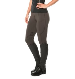 Kerrits Free Style Knee Patch Pocket Tight Black Dapple Leopard