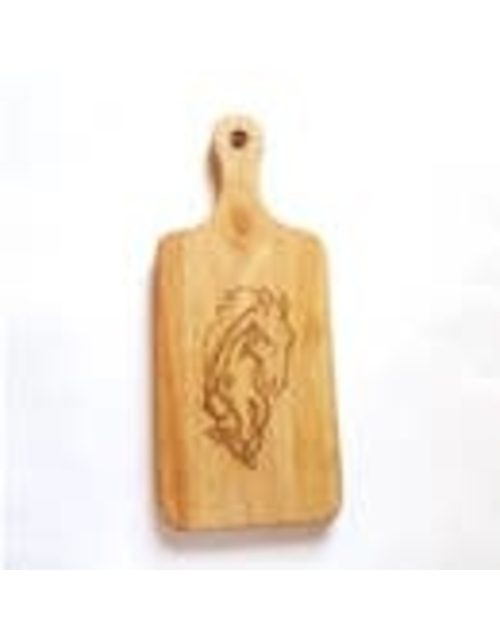 """Celtic Horse Charcuterie Board With Handle 13"""" x 5.5"""""""
