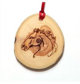 Celtic Horse Epona Essential Oil Diffuser Wood Ornament
