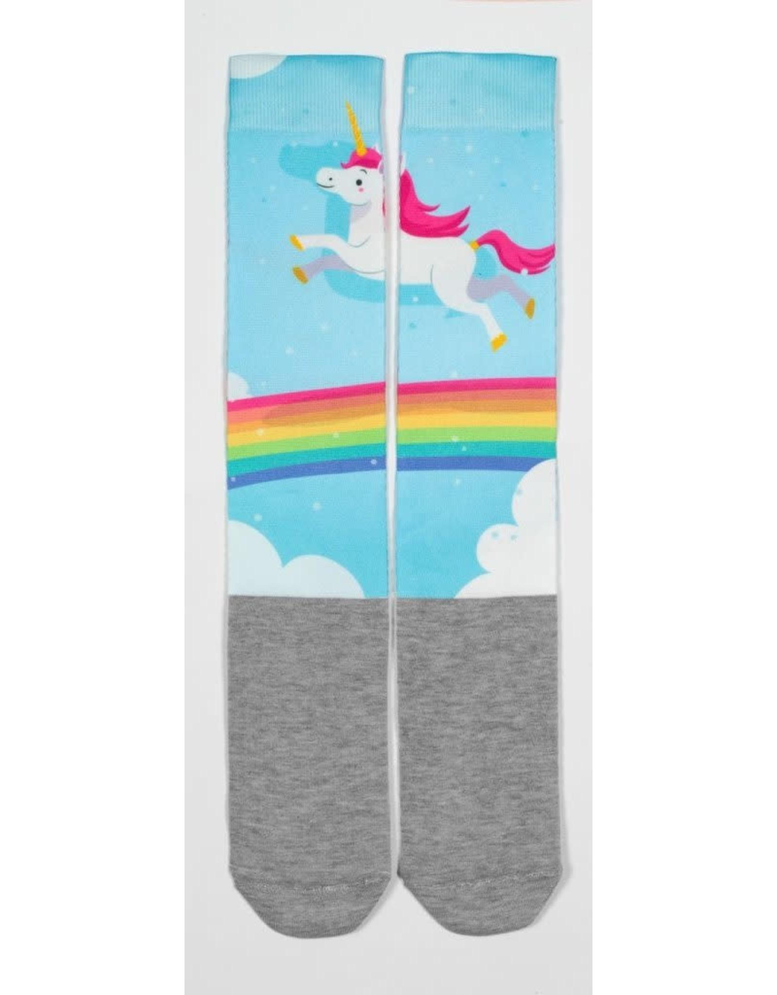 USG Happy Print Soft Socks Rainbow Unicorn