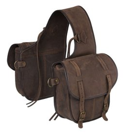 Tough 1 Soft Leather Cantle Bag