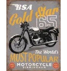 Dublin Design Poster - BSA Gold Star Mortocycle