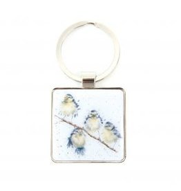 Wrendale Designs Keyring -  Hanging out with Friends