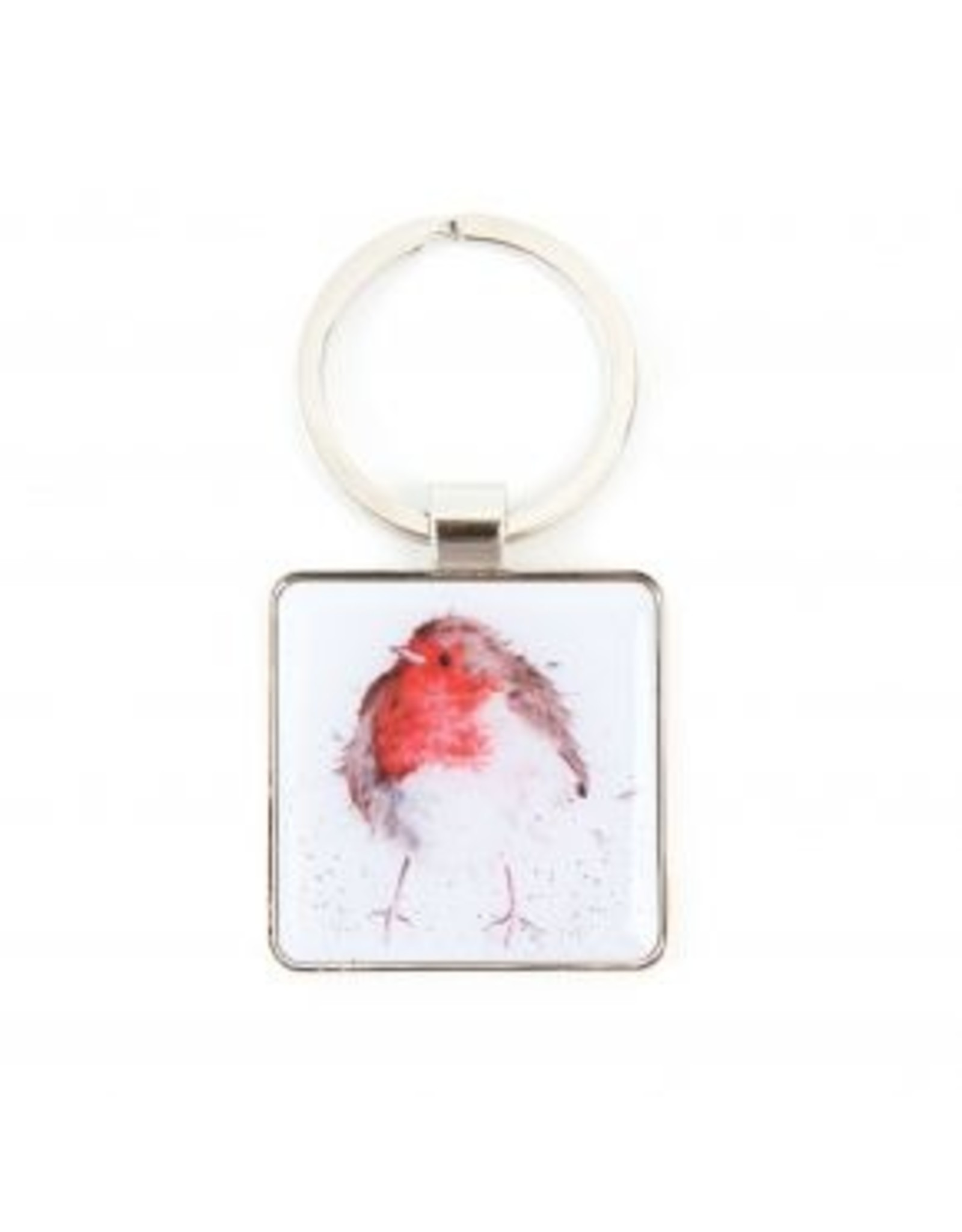 Wrendale Designs Keyring -  Jolly Robin