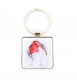 Wrendale Designs Keyring -  Jolly Robin