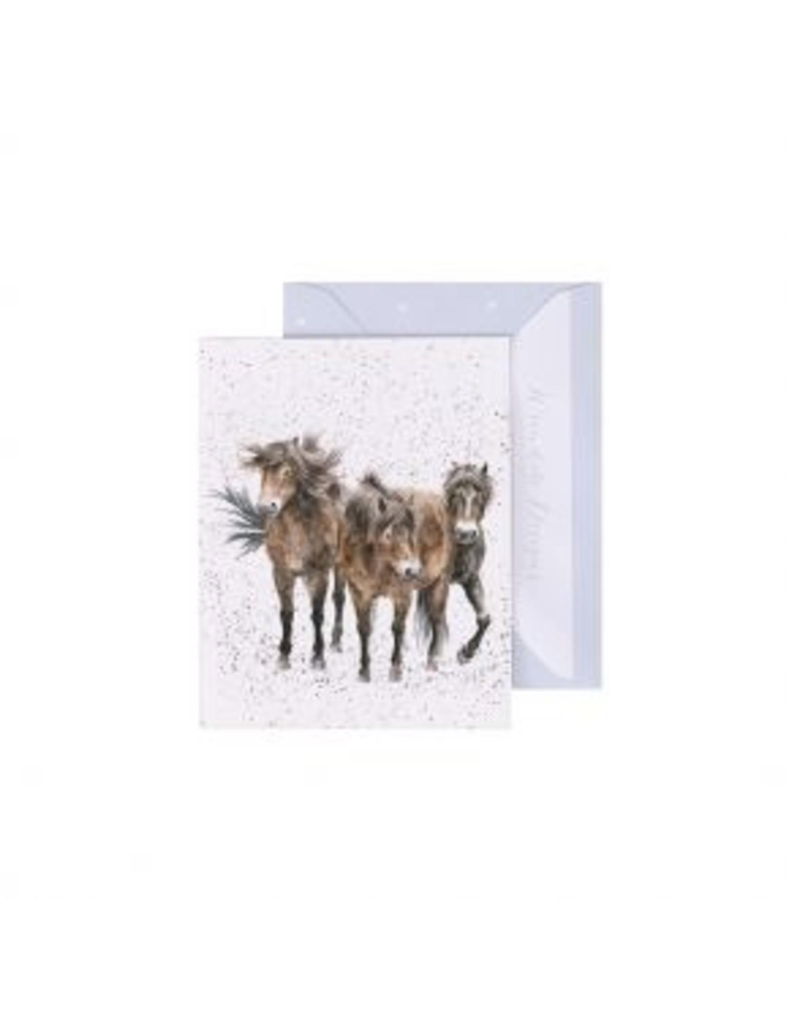 Wrendale Designs Miniature Card - Three Amigos