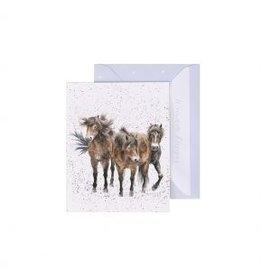 Wrendale Designs Mini-Carte - Trois Amigos