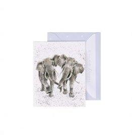 Wrendale Designs Miniature Card -  Irrelephant