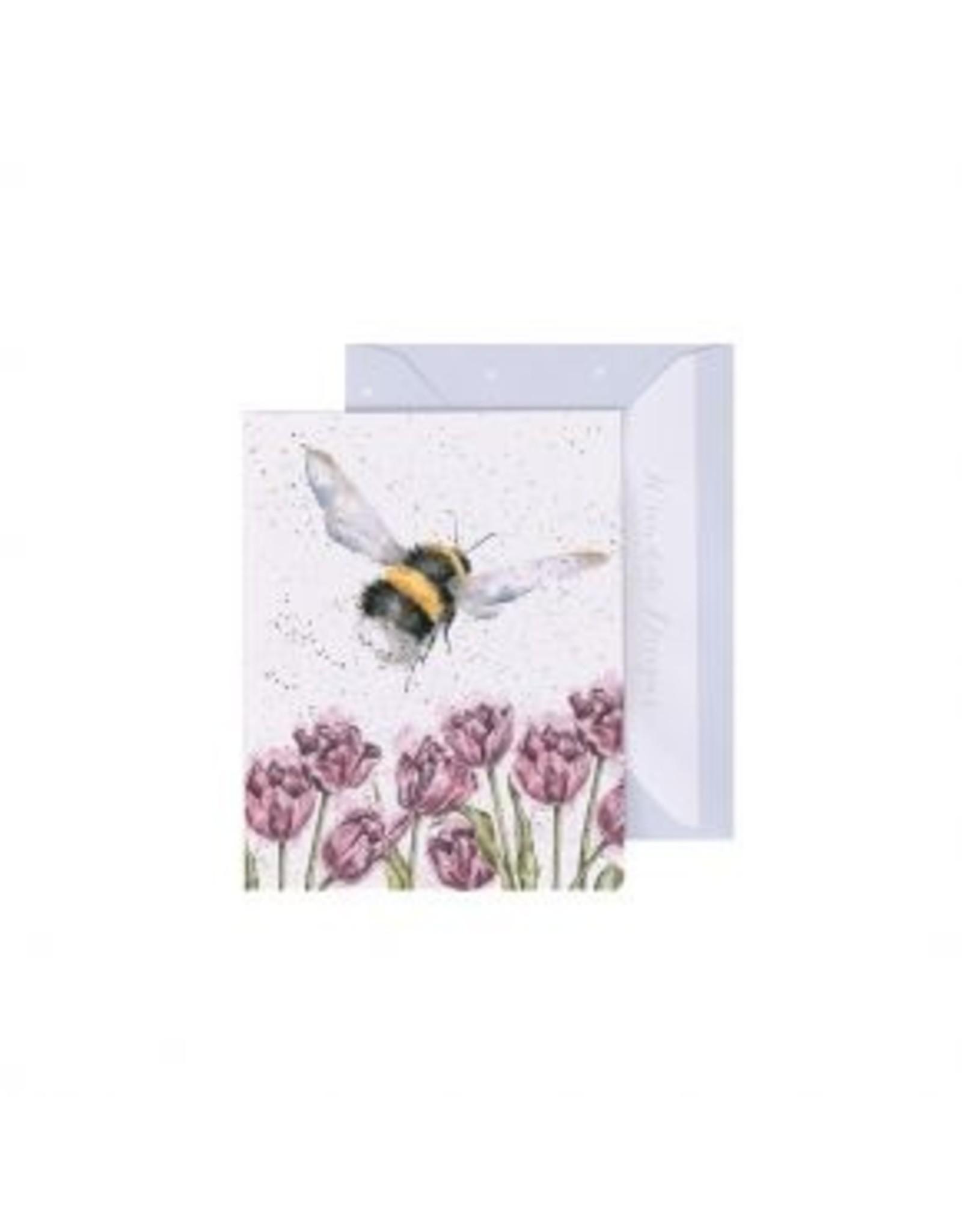 Wrendale Designs Miniature Card -  Flight of the Bumblebee