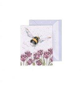 Wrendale Designs Mini-Carte - Vol de l'abeille