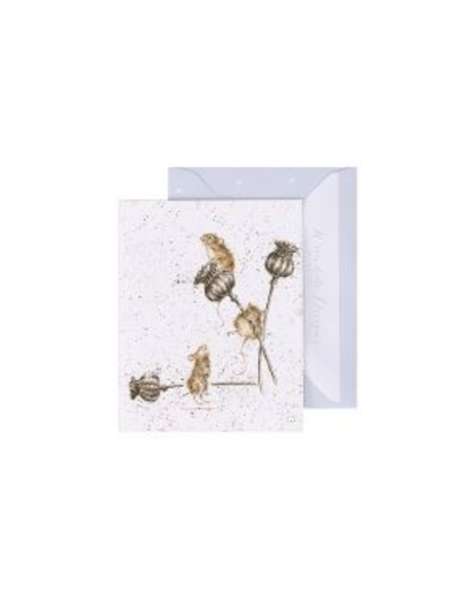Wrendale Designs Miniature Card -  Country Mice