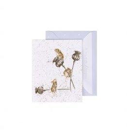 Wrendale Designs Mini-Carte - Souris de pays