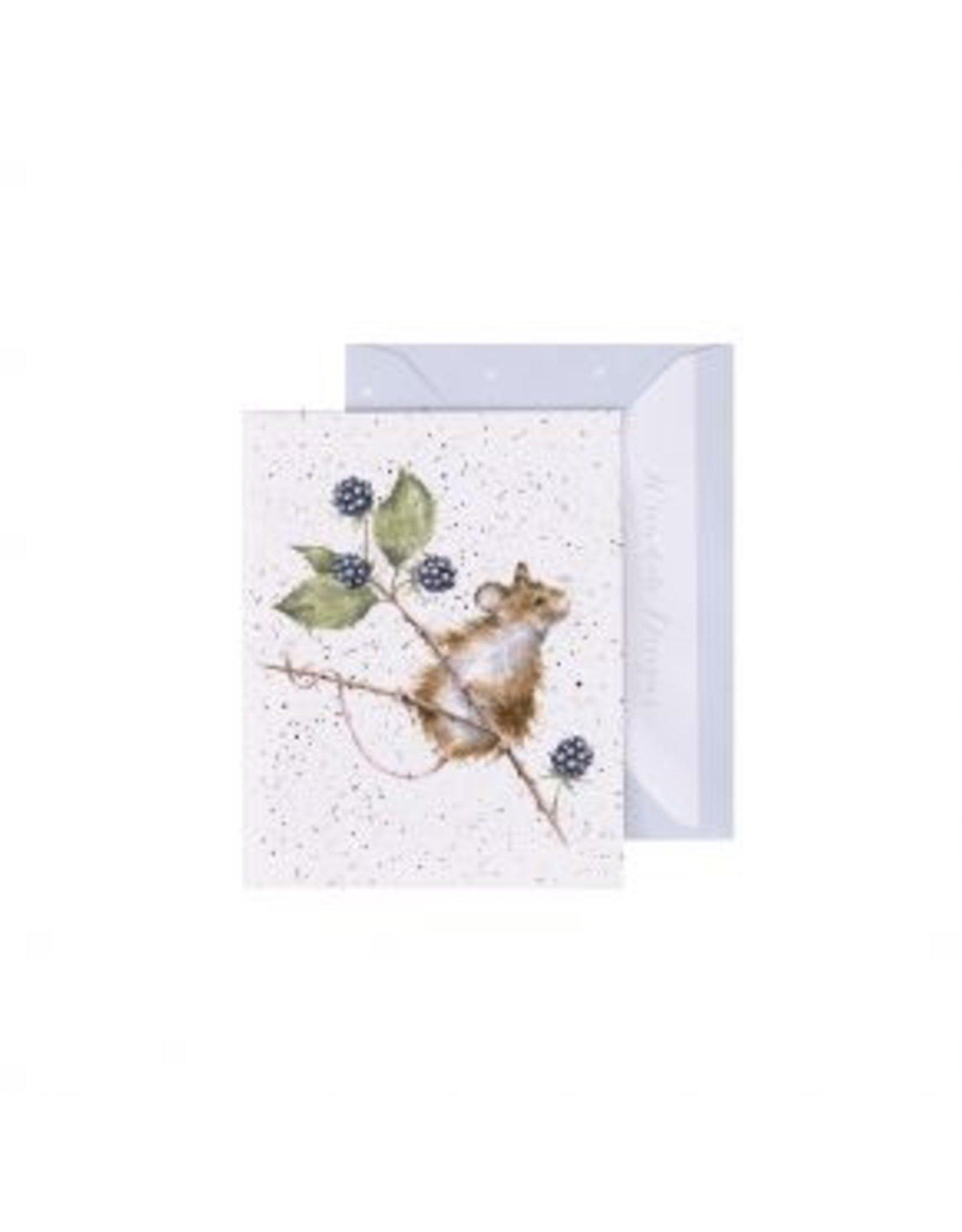 Wrendale Designs Miniature Card -  Brambles