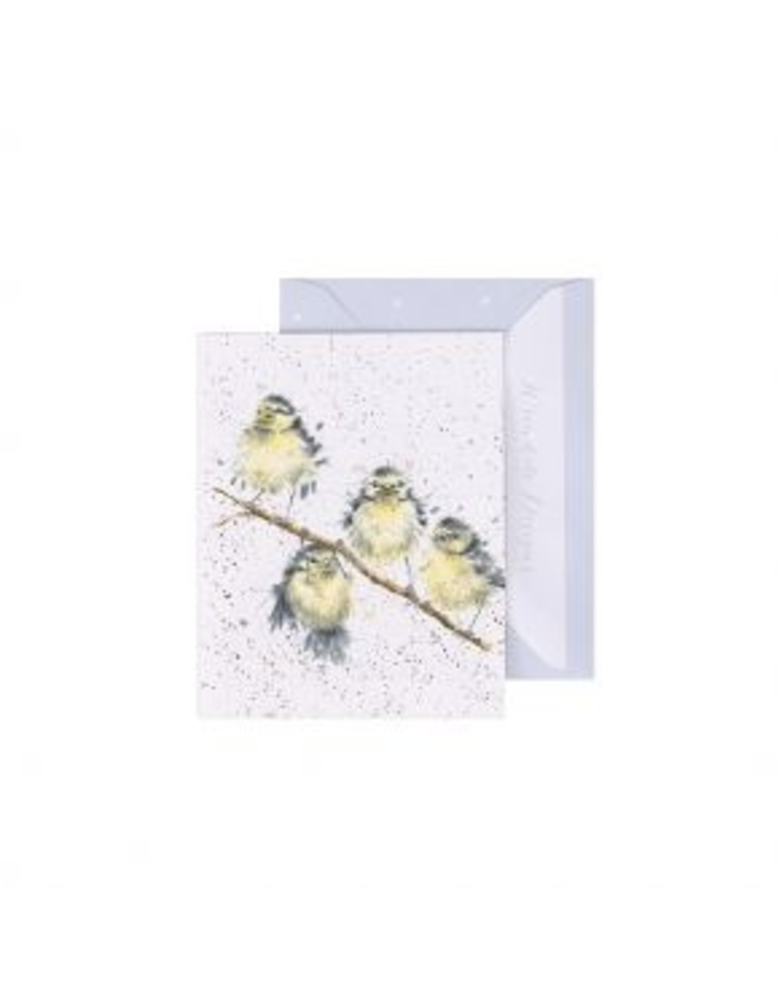 Wrendale Designs Miniature Card -  Hanging out with Friends