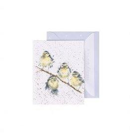 Wrendale Designs Mini-Carte - Oiseaux entre amis