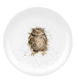 "Wrendale Designs Plate 8"" - What a Hoot"