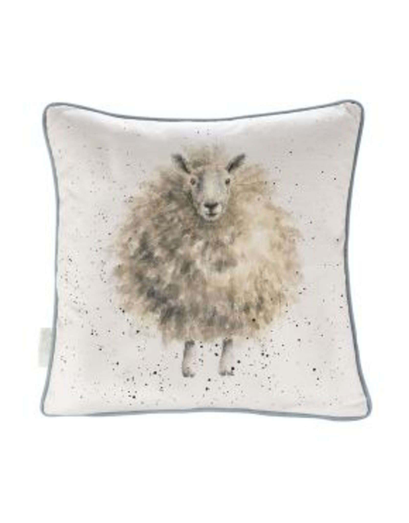 Wrendale Designs Cushion - Wolly Jumper Sheep