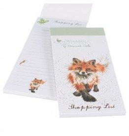 Wrendale Designs Shopping List  - Foxtrot