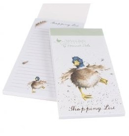 Wrendale Designs Shopping List  - Waddle and Quack Duck