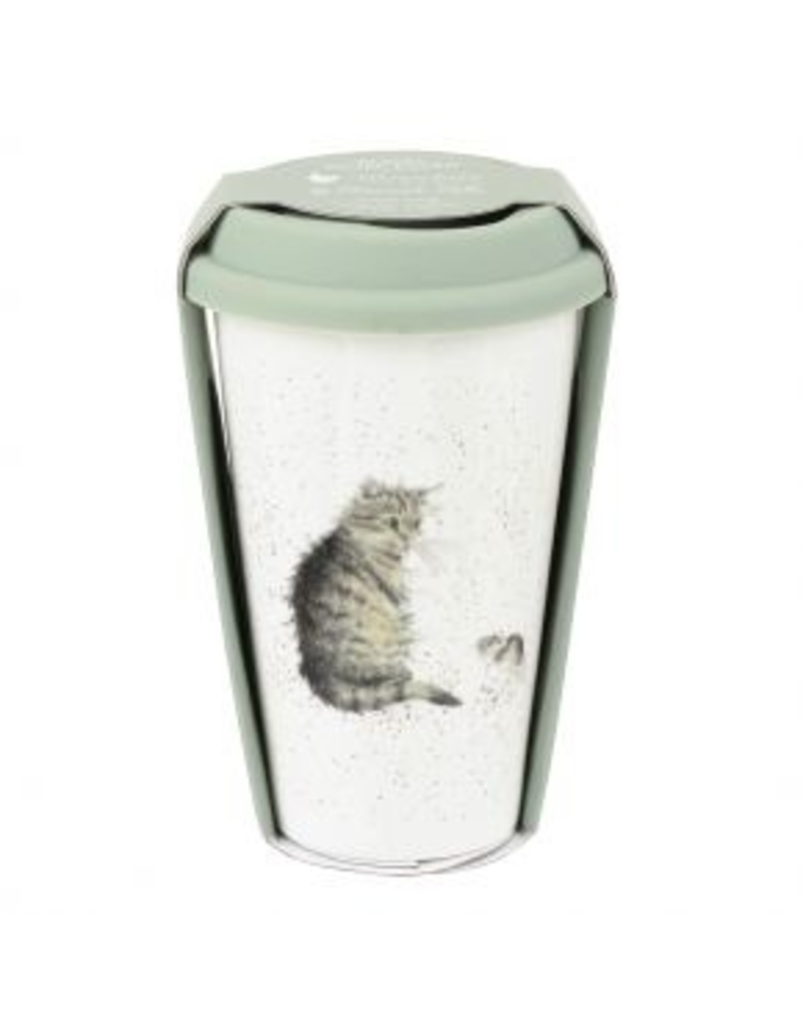 Wrendale Designs Tasse - 11 oz À Voyage Chat