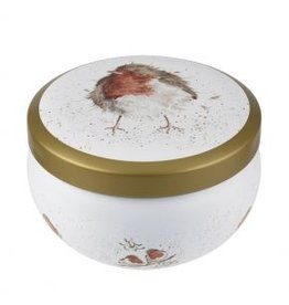 Wrendale Designs Tin Candle -  Jolly Robin