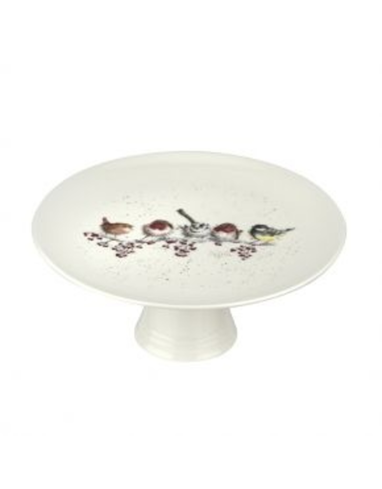 """Wrendale Designs Cake Stand 9.75"""" - One Snowy day"""