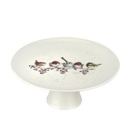 "Wrendale Designs Cake Stand 9.75"" - One Snowy day"