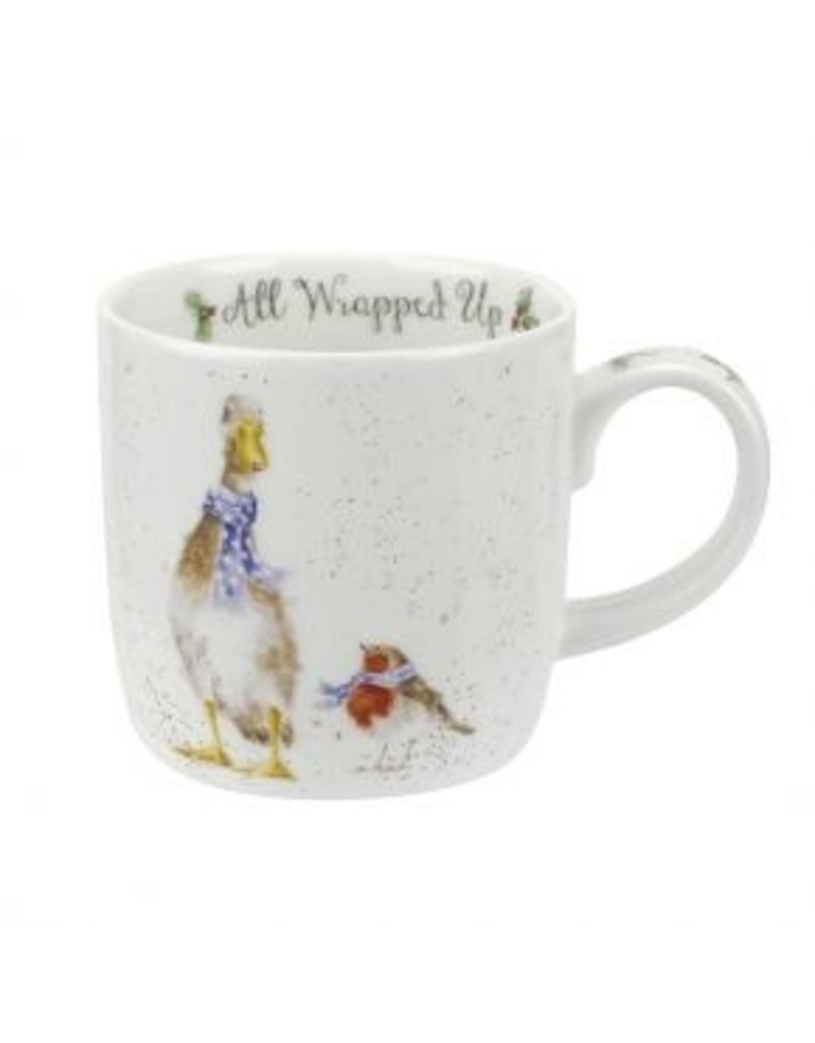 Wrendale Designs  Mug 11 oz - All Wrapped Up