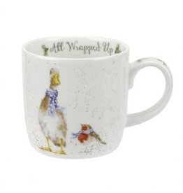 Wrendale Designs Mug 11 oz - All Wrapped Up
