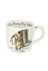 Wrendale Designs  Mug 11 oz - Boxing Day walk