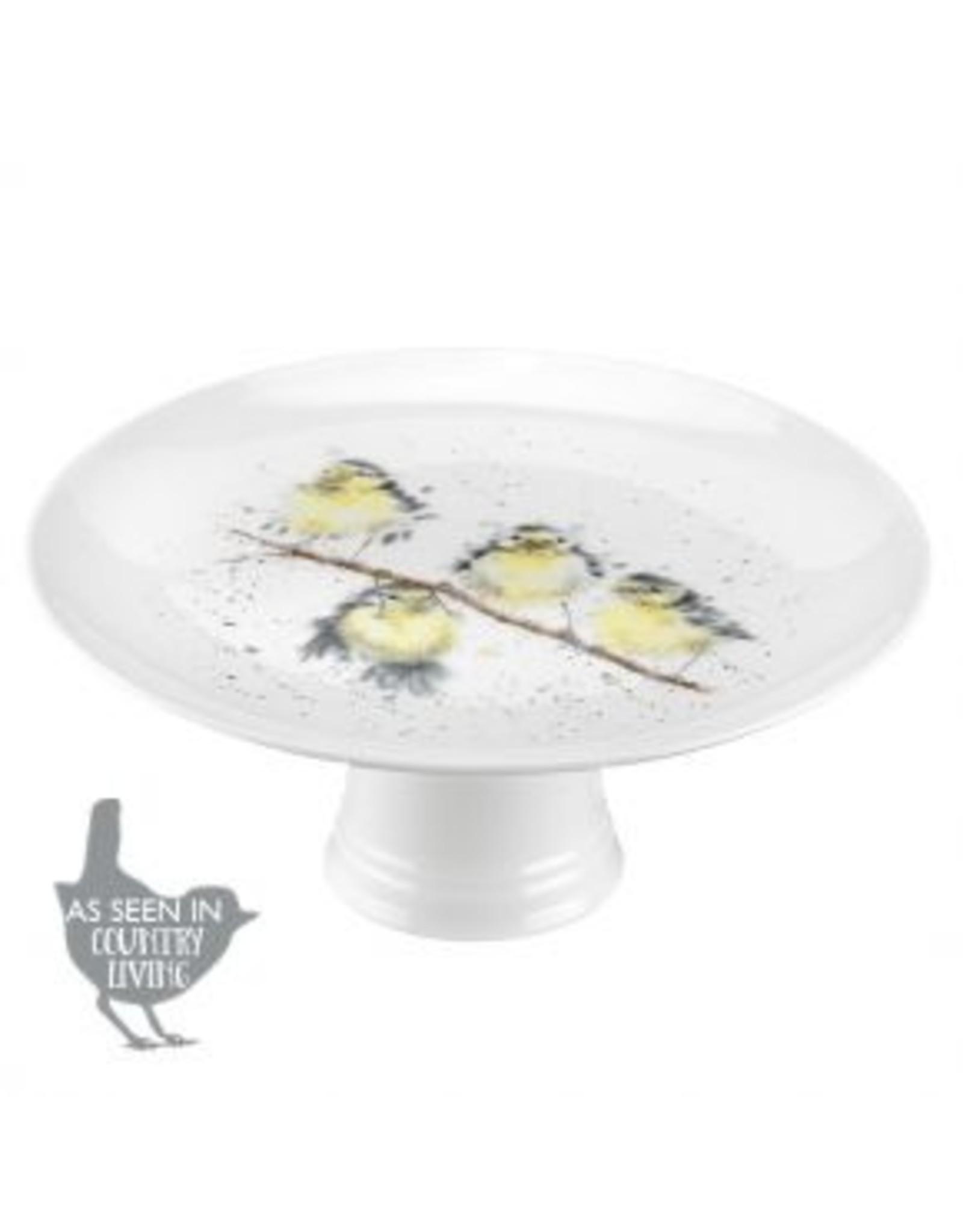Wrendale Designs Assiette sur pied - 9.75'' Oiseaux