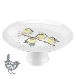 "Wrendale Designs Cake Stand 9.75"" - Birds"