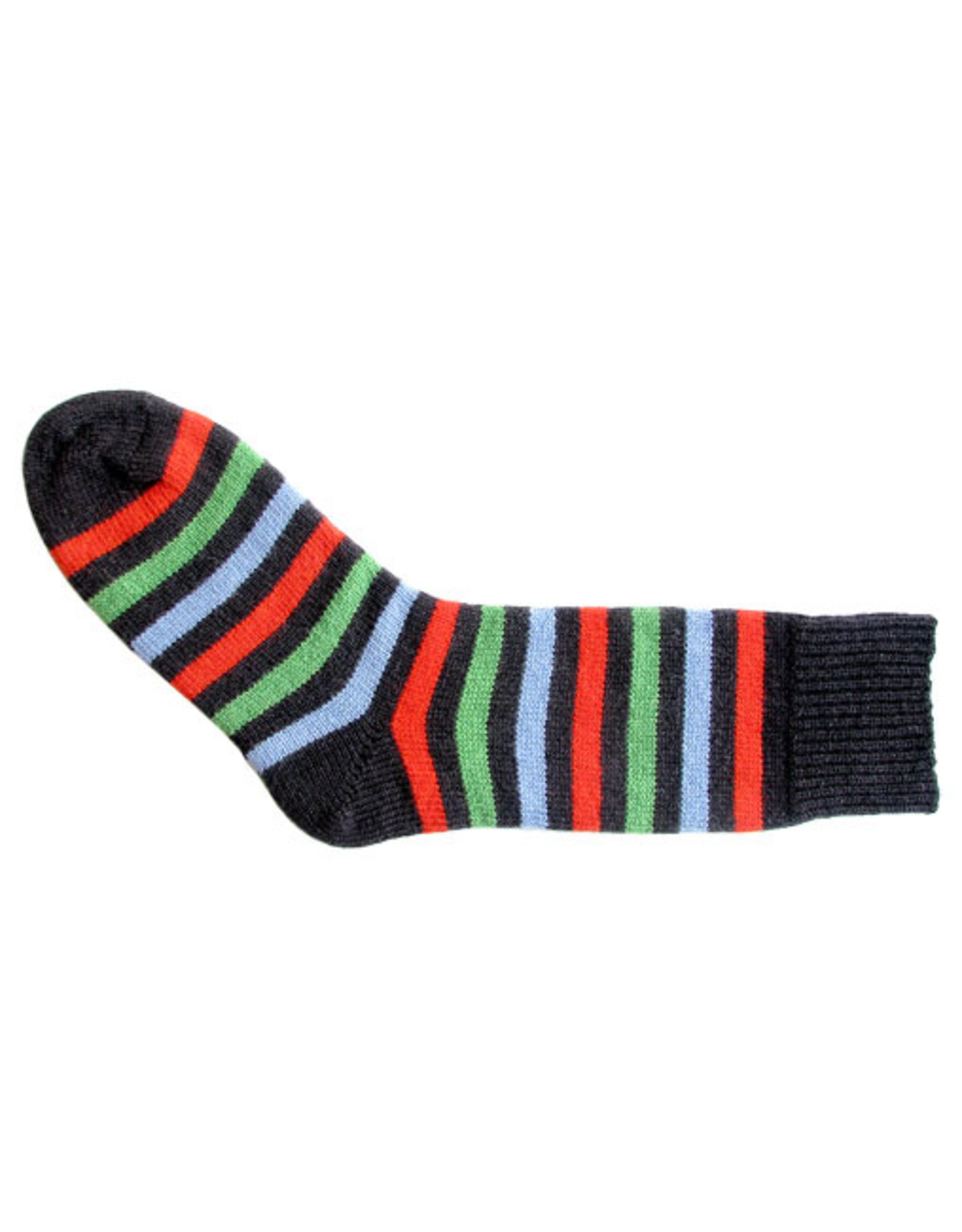 Bas de laine & mot coquin - Socks The Champion (Blue/Orange, Blue and Green)