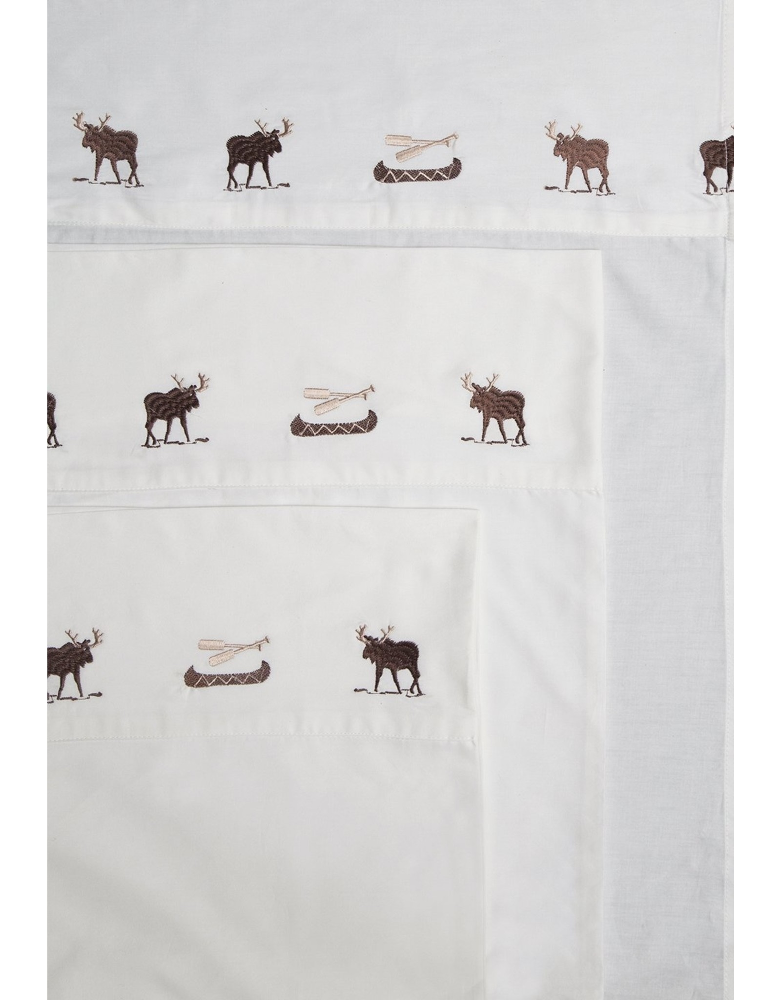 Carstens - Sheets Embroidered Moose