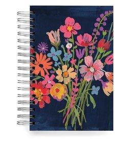 Ecojot - Notebook Blue Bouquet